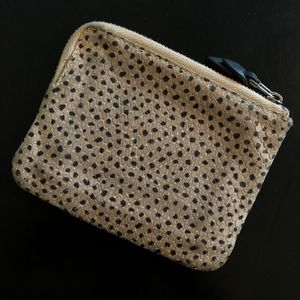 Madewell Bags - Snake Pattern Leather Zip Wallet - Madewell